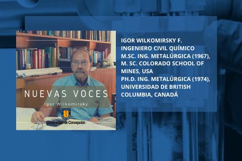 Igor Wilkomirsky – La persona que más patenta en Chile. Tratamiento de residuos